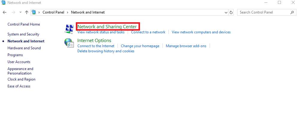 How to change windows DNS from control panel